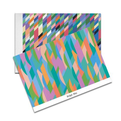 Bridget Riley notecard set + sketchpad offer