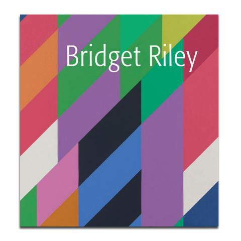 Bridget Riley exhibition book (hardback)