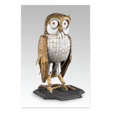 Bubo owl model from Clash of the Titans fridge magnet