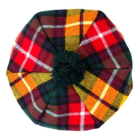 Buchanan modern tartan wool tam hat