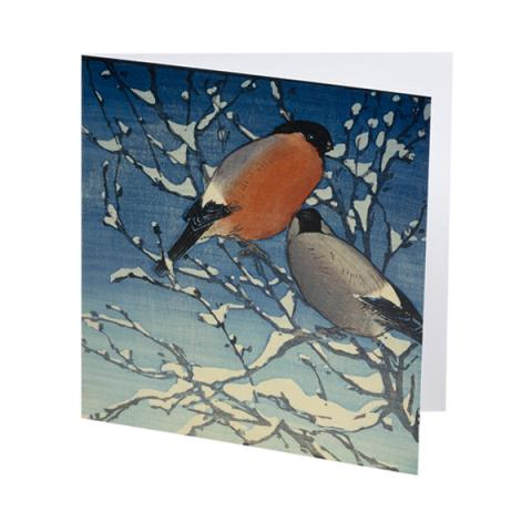 Bullfinches Allen William Seaby Christmas Card Pack (10 cards)