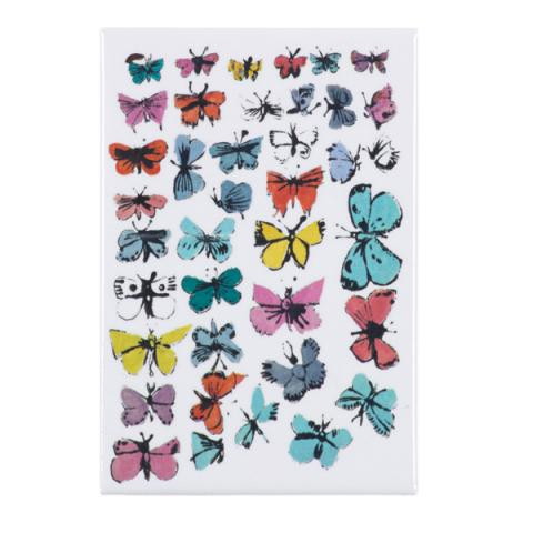 Butterflies by Andy Warhol magnet