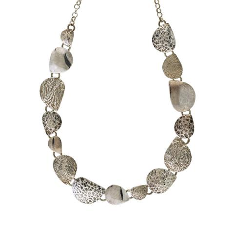 New pattern silver necklace
