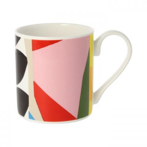 Geometric pattern II drinking chocolate mug