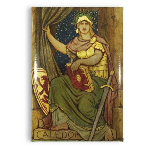 Processional Frieze Caledonia Fridge magnet