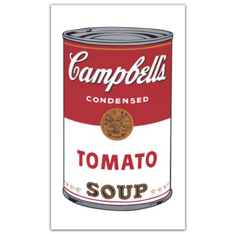 Campbell's Soup I: Tomato, 1968 by Andy Warhol poster print