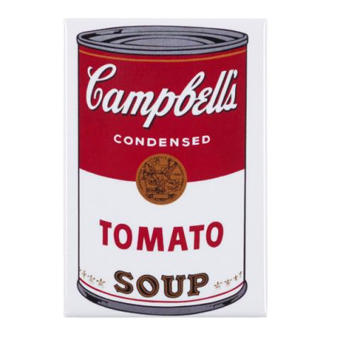 Campbell's Tomato Soup Andy Warhol Magnet