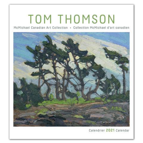 Canadian wilderness by Tom Thomson 2021 wall calendar