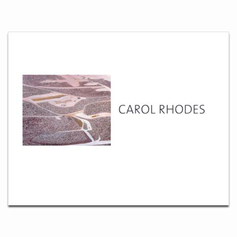 Carol Rhodes exhibition book (paperback)