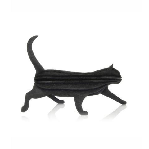 Black cat flat pack construction kit