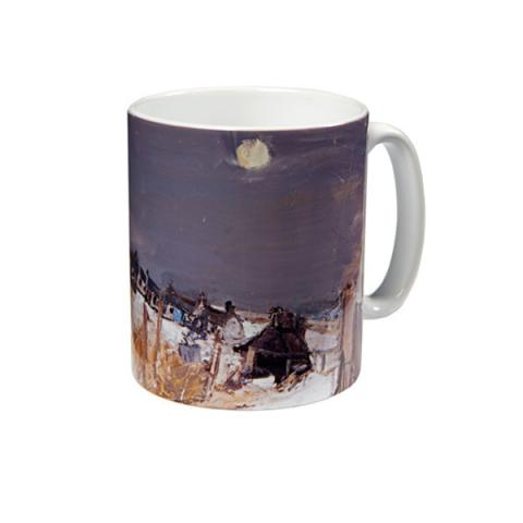 Catterline in Winter Joan Eardley Mug