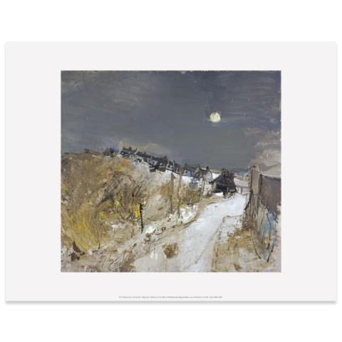 Catterline in Winter by Joan Eardley art print