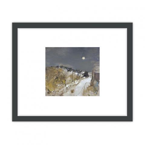 Catterline in Winter by Joan Eardley ready to hang framed print