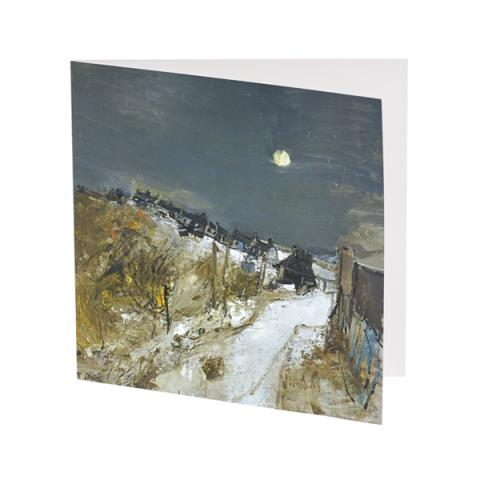 Catterline in Winter Joan Eardley Christmas Card Pack (10 cards)