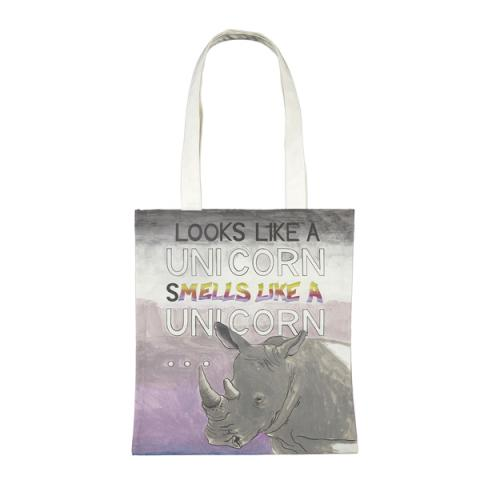 Unicorn Charles Avery Tote Bag