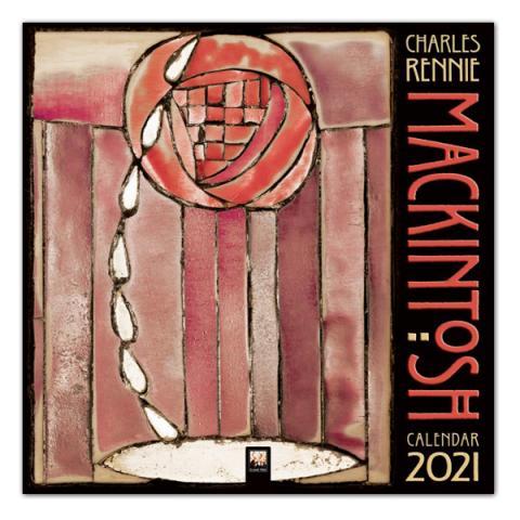 Charles Rennie Mackintosh 2021 wall calendar