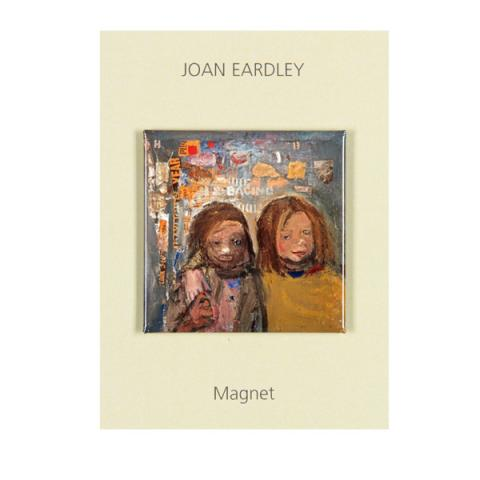 Children and Chalked Wall 3 Joan Eardley Magnet