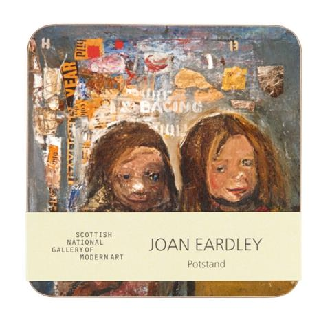 Children and Chalked Wall 3 Joan Eardley pot stand
