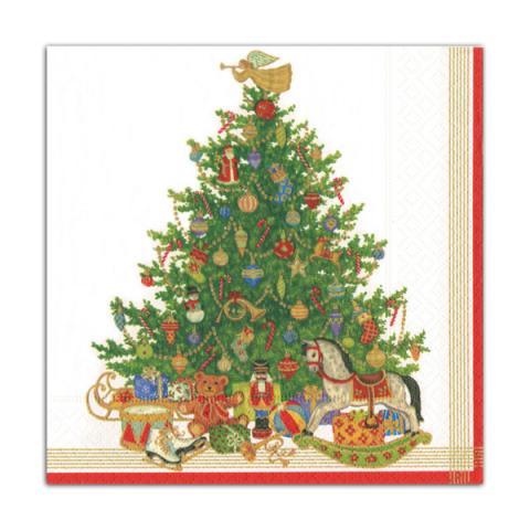 Christmas tree and toys napkin pack (20 napkins)