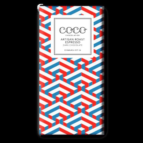 Coco Chocolatier Artisan Roast Espresso Dark Chocolate