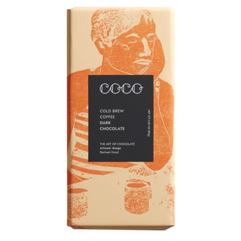 Coco Chocolatier Cold Brew Coffee Dark Chocolate