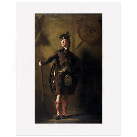 Colonel Alastair Ranaldson Macdonell of Glengarry by Sir Henry Raeburn art print