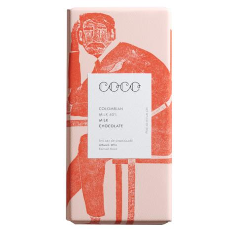 Coco Chocolatier Colombian Milk Chocolate