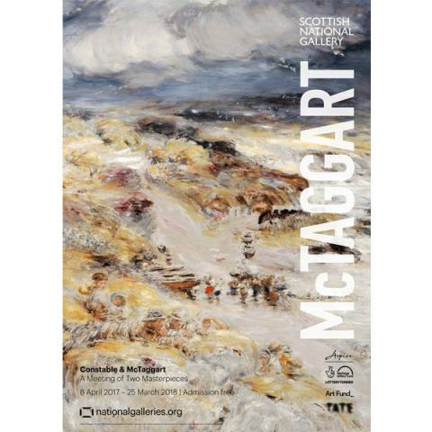 Constable & McTaggart: A Meeting of Two Masterpieces (McTaggart) exhibition poster