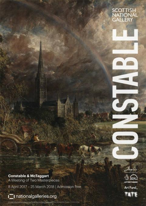 Constable Exhibition Poster