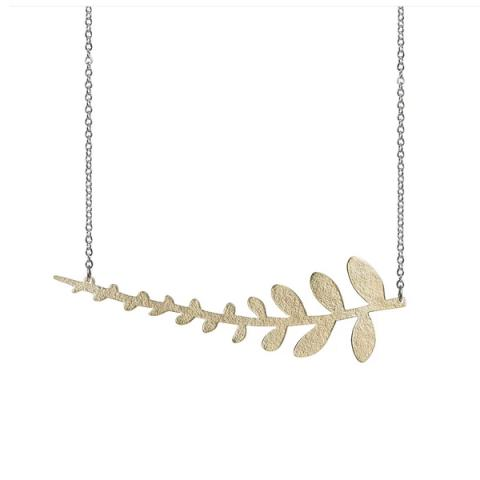 Coralie fern by Just Trade necklace