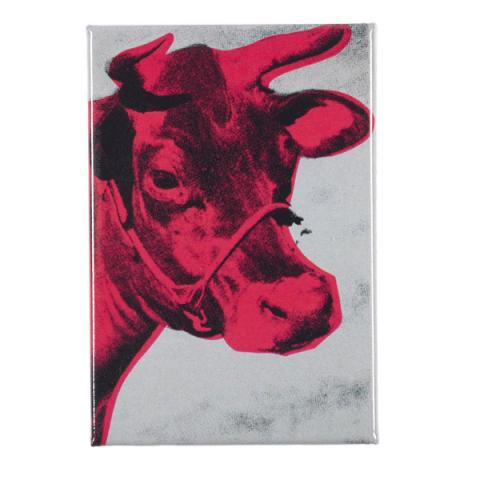 Cow by Andy Warhol magnet