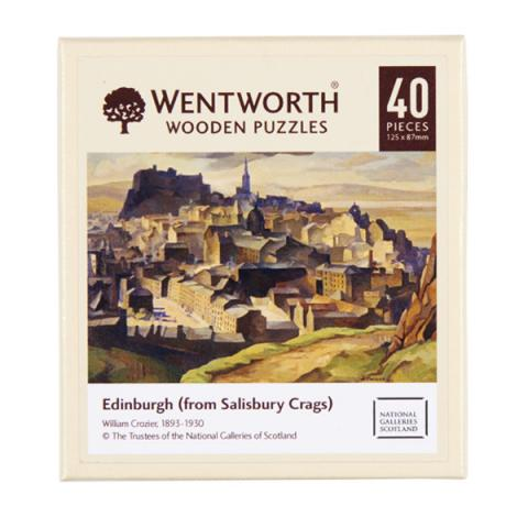 Edinburgh (from Salisbury Crags) William Crozier (40 pieces) Wooden Jigsaw Puzzle