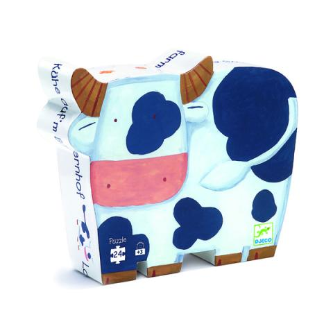 The cows on the farm jigsaw puzzle