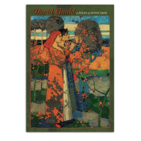 David Gauld decorative notecard set (10 cards)