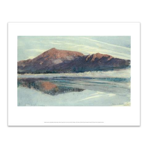 Dawn, Coniston by John Ruskin art print (35.5 x 28 cm)