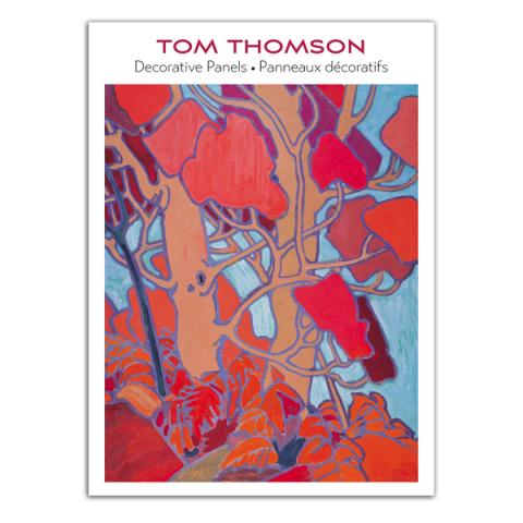 Decorative panels by Tom Thomson notecard box (20 cards)