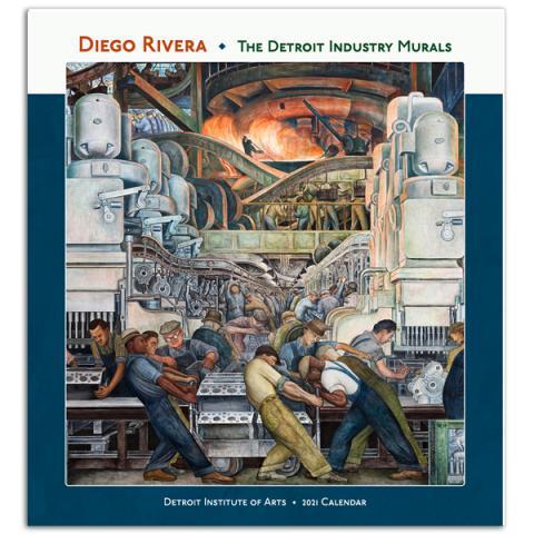 The Detroit Industry Murals 2021 wall calendar