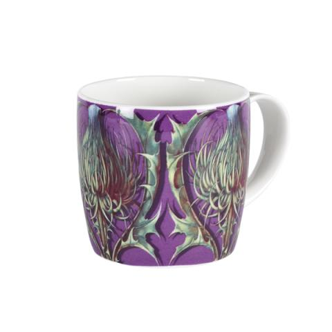 Purple thistle mug
