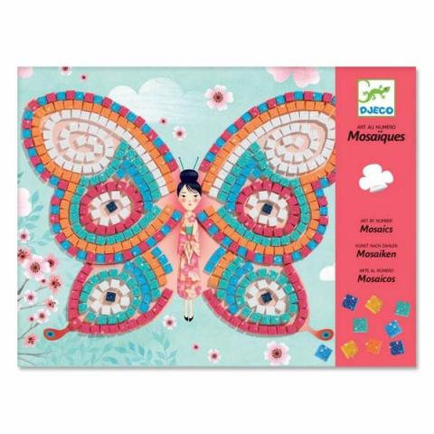 Butterflies mosaic art set