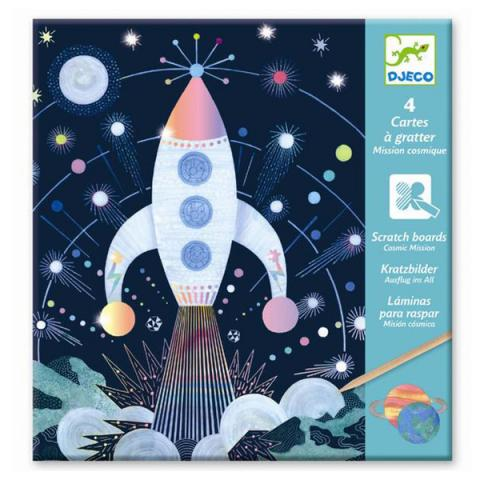Cosmic mission scratch cards pack