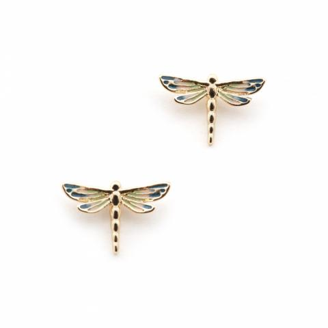 Bill Skinner Dragonfly Stud Earrings