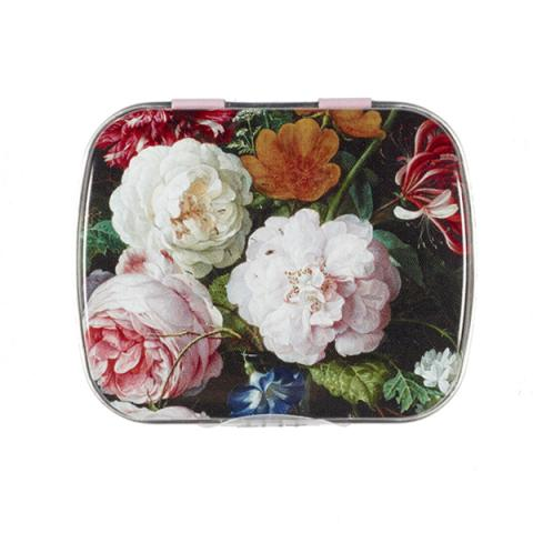 Floral Still Life De Heem Mint Tin