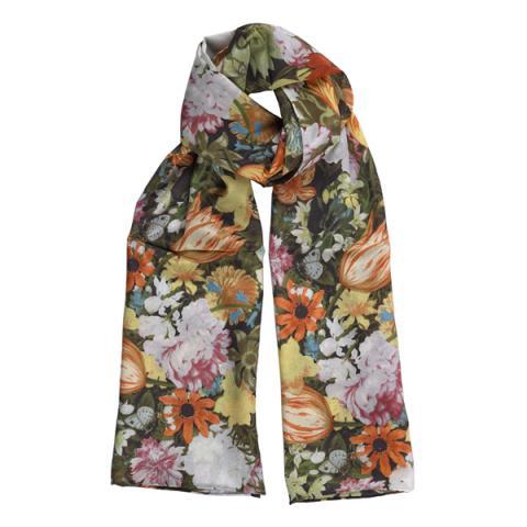 Dutch Still Life silk scarf
