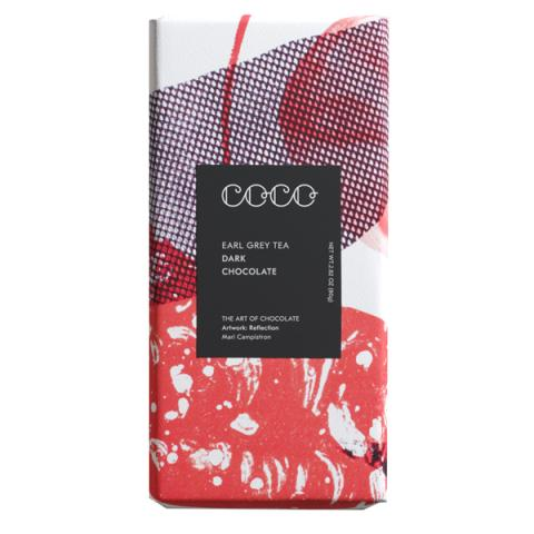 Coco Chocolatier Earl Grey Tea Dark Chocolate