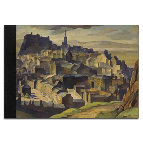 Edinburgh (from Salisbury Crags) by William Crozier A5 sketchpad