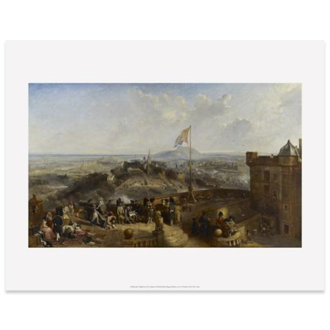 Edinburgh Old and New by David Octavius Hill art print