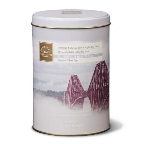 Edinburgh blend tea re-usable caddy