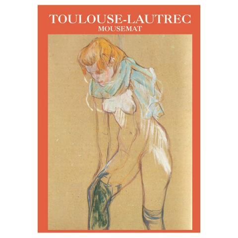Étude Pour Femme by Henri de Toulouse-Lautrec mouse mat