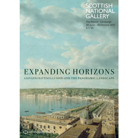 Expanding Horizons: Giovanni Battista Lusieri and the Panoramic Landscape exhibition poster