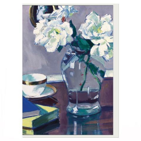 Roses Francis Campbell Boileau Cadell Greeting Card